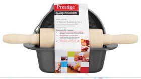 Prestige 3 Piece Mini Bakeware Set - Black