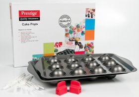 Prestige - 12 Cup Cake Pops Bake Kit - Black