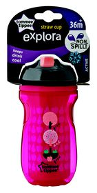 Tommee Tippee - 260ml Explora Active Straw Cup - Apples