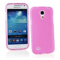 Pink Frost TPU Gel Cover Case for Samsung Galaxy S4 Mini