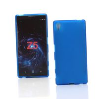 Blue Frost TPU Gel Cover Case for Sony Xperia Z5 Premium