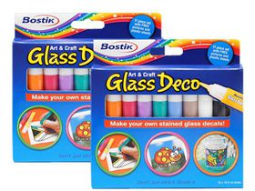 Bostik Art & Craft Glass Deco Double Pack