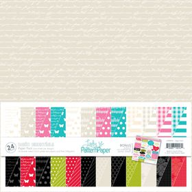 Lady Pattern Paper Basic Essentials Paper Pack