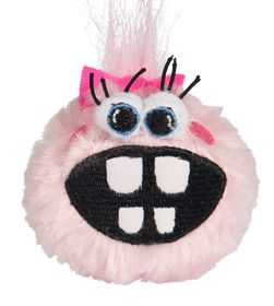 Rogz Pupz Grinz Pink Roxi Squeak Toy - Medium