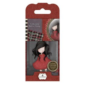 Gorjuss Rubber Stamp - No.18 Poppy Wood