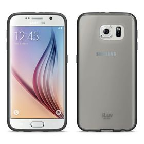iLuv Vyneer Transparent Case For Galaxy S6 - Black