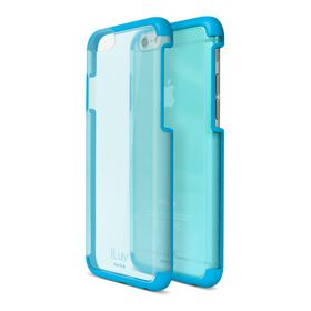 iLuv Vyneer Dual Material Case iPhone 6/6s - Blue