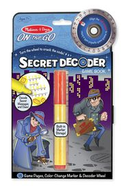 Melissa & Doug Secret Decoder - Game Book