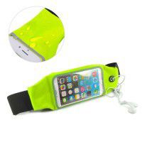 Tuff-Luv Waterproof Sports Runners Waist Bag Pouch for iPhone 6s - Green