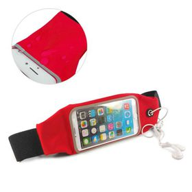 Tuff-Luv Waterproof Sports Runners Waist Bag Pouch for iPhone 6s Plus - Red