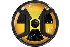 Kaiser Snap On Lens Cap Nuclear 52mm