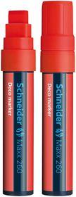 Schneider Maxx 260 Deco Marker - Red