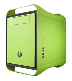 BitFenix Prodigy Window Green - M-ATX Tower