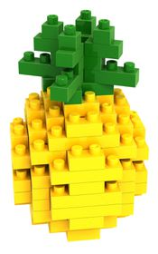 Diamond Block- Pineapple