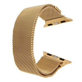 Tuff-Luv Magnetic Stainless Steel Watchband for Apple Watch 38mm - Gold
