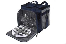 Eco - 4 Person Picnic Cooler - Black