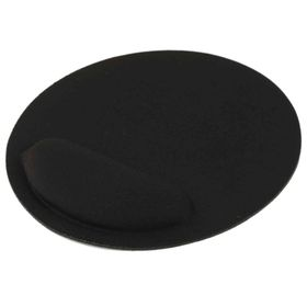 Tuff-Luv Ultra Slim Gel and Cloth Wrist Supporter Mouse Pad - Black
