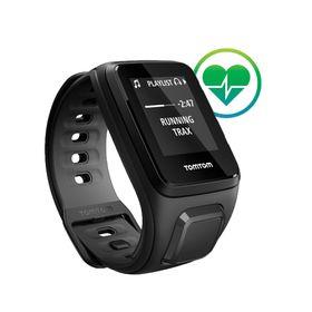 TomTom Spark Cardio GPS Fitness Watch - Small - Black