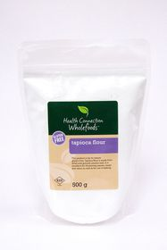Health Connection Wholefoods Tapioca Flour - 500g