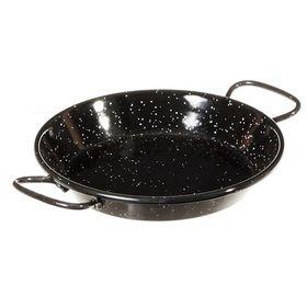 Perfect Paella 10cm Enamel TAPA Pan - Black