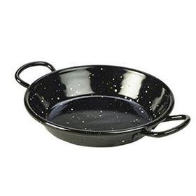 Perfect Paella - 12 cm Enamel Tapa Pan - Black