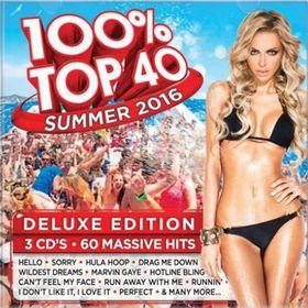 100 % Top 40 - Summer 2016 Deluxe Edition (CD)