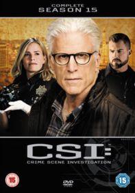 CSI - Crime Scene Investigation: The Complete Season 15 (DVD)
