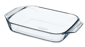 Pyrex - Optimum Glass Rectangular Roasters - 1.4 Litre