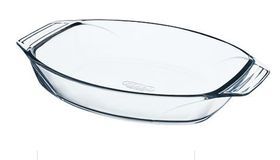 Pyrex - Optimum Glass Oval Roasters - 2 Litre