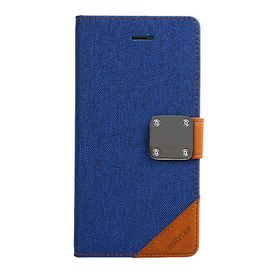 Astrum Matte Flip Cover Case Samsung Galaxy S6 Blue - MC630