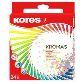Kores Kromas 24 Triangular Colour Pencils