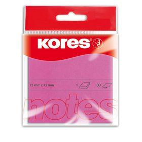 Kores Neon Notes - Magenta (100 Sheets)