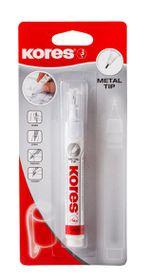 Kores Metal Tip Correction Pen - 10g in Blister
