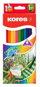 Kores Kolores Akuarelle 12 Colour Pencils