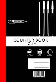 Freedom Stationery 1-Quire 96 Page A4 F&M Counter Book
