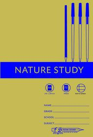 Freedom Stationery 72 Page A4 F&M Nature Study Book