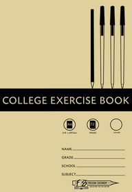 Freedom Stationery 72 Page A4 Unruled College Exercise Book (20 Pack)