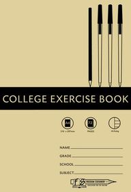 Freedom Stationery 72 Page A4 Alternate Ruling College Exercise Book (20 Pack)