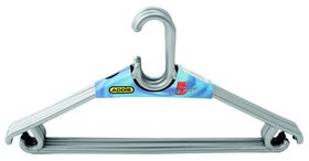 Addis - Unise x 5 Piece Hanger - Grey
