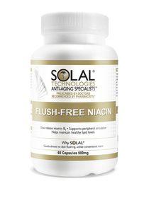 Solal Niacin-Flush Free-Vit B3 500mg 60
