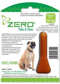 Efekto Zero Ticks & Fleas For XL Dogs - 4.02ml