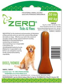 Efekto -  Zero Ticks & Fleas For Large Dogs - 2.68ml