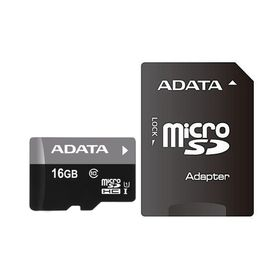 Adata 16GB Micro SDHC UHS-I U1 and SD Adapter