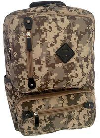 Edison Camo School Backpack - Khaki Camo