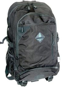 Edison Large Chunky Zip Backpack - Black