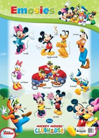 Butterfly Wallchart - Mickey Mouse Emosies