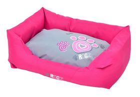 Rogz - Spice Podz Dog Bed - Small - Pink Paw Design