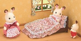 Sylvanian Families Classic Antique Bed