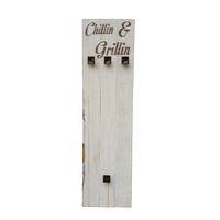 """Prettish Braai Set Holder - """"Chillin & Grillin"""""""