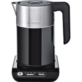 Bosch - Cordless Kettle Styline 2400 Watt - Black and Silver